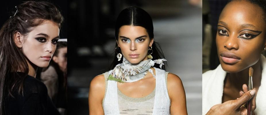 Milano Moda Haftasının En Beğenilen Saç ve Makyajları