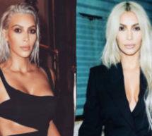 Kim Kardashian'dan Cesur Saç Değişimi